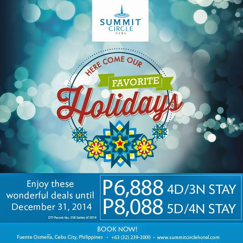5 Summit Circle Hotel Cebu Holiday Promos To Watch Out For