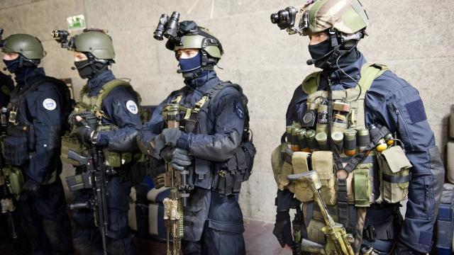 Gsg9 1 87 unit sp ciale gign groupe d 39 intervention de for Gendarmerie interieur gouv fr gign