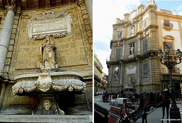 Quattro Canti, Palermo Sicília