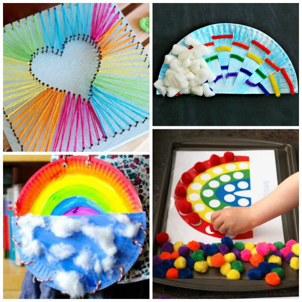 "50+ WAYS FOR KIDS TO ""MAKE A RAINBOW"" - I can't wait to try some of these! #rainbowcrafts #craftsforkids #springcraftsforkids #rainbowactivities #kidsactivities #kidscrafts #rainbowcraftsforkids #rainbowcraftspreschool #preschoolcrafts #artsandcrafts #artsandcraftsforkids #artprojects"