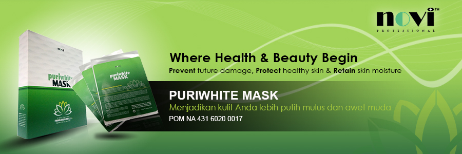 Novi Puriwhite Mask