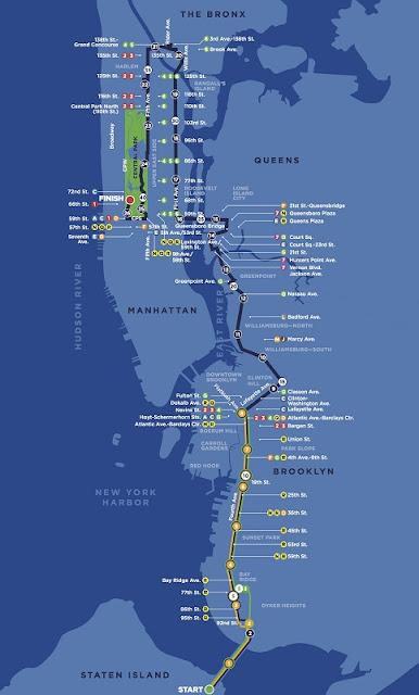 Percurso da Maratona de Nova York