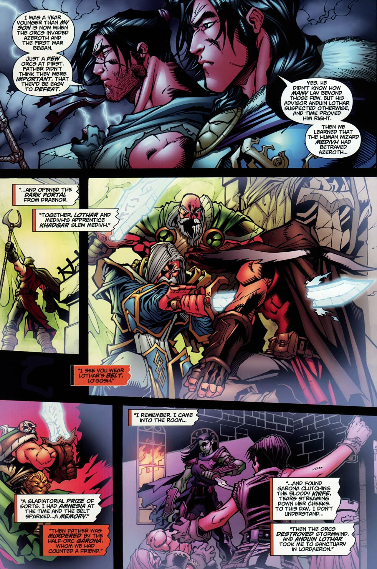Read online World of Warcraft comic -  Issue #13 - 7