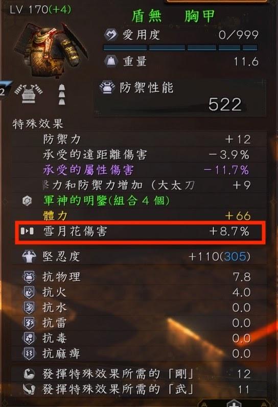 防具 仁王2 大太刀