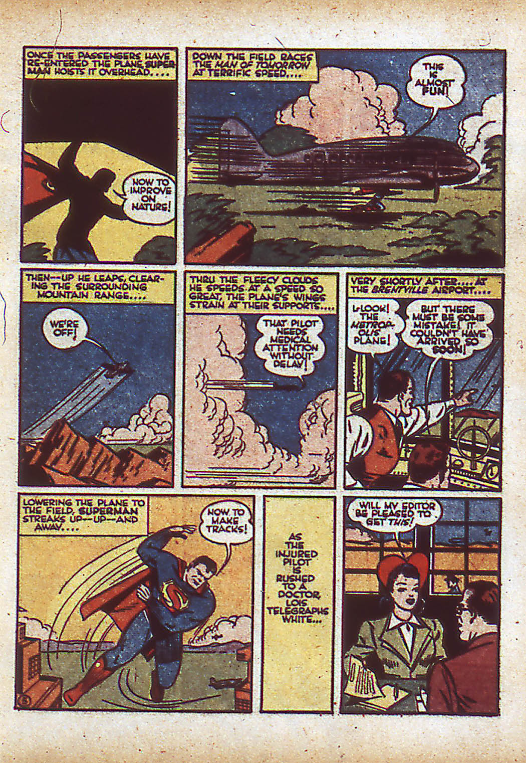 Read online Action Comics (1938) comic -  Issue #43 - 7