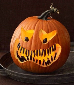 angry pumpkin carving faces ideas