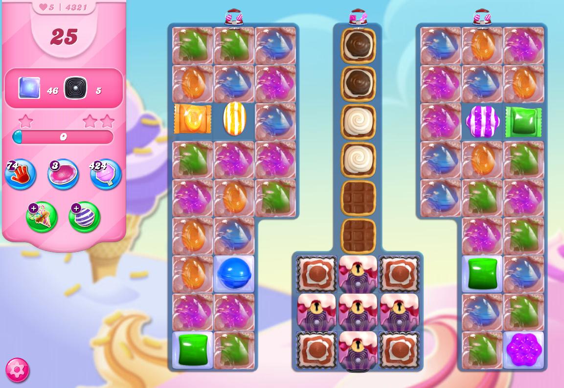 Candy Crush Saga level 4321