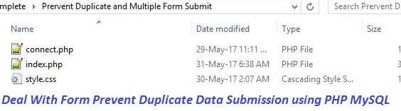 how to avoid inserting duplicate records in mysql