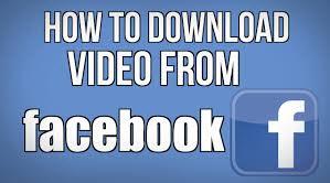 Begini Cara menyimpan / Ambil video dari Facebook ke komputer Anda dengan mudah