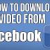 Inilah Cara menyimpan / Download Video dari Facebook ke komputer Anda dengan mudah
