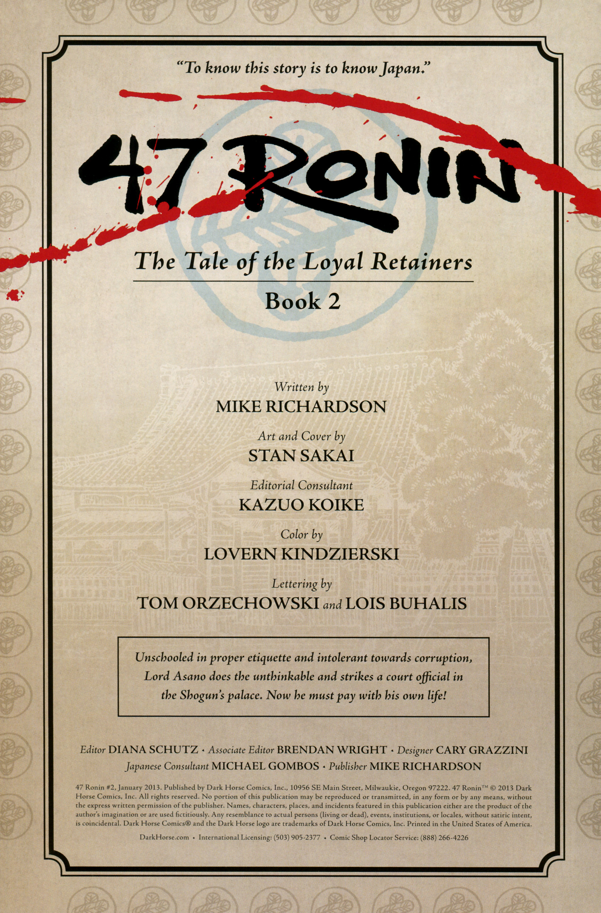 47 Ronin 2 Page 1