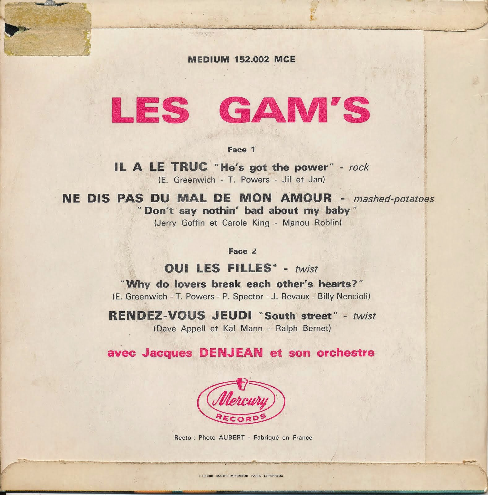 Les Gam's - EP Collection