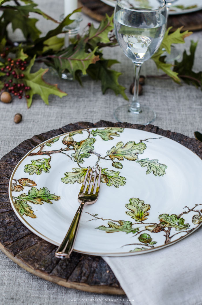 Nature Inspired Placesetting
