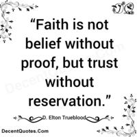 Tin cậy - Tin tưởng - Đức tin