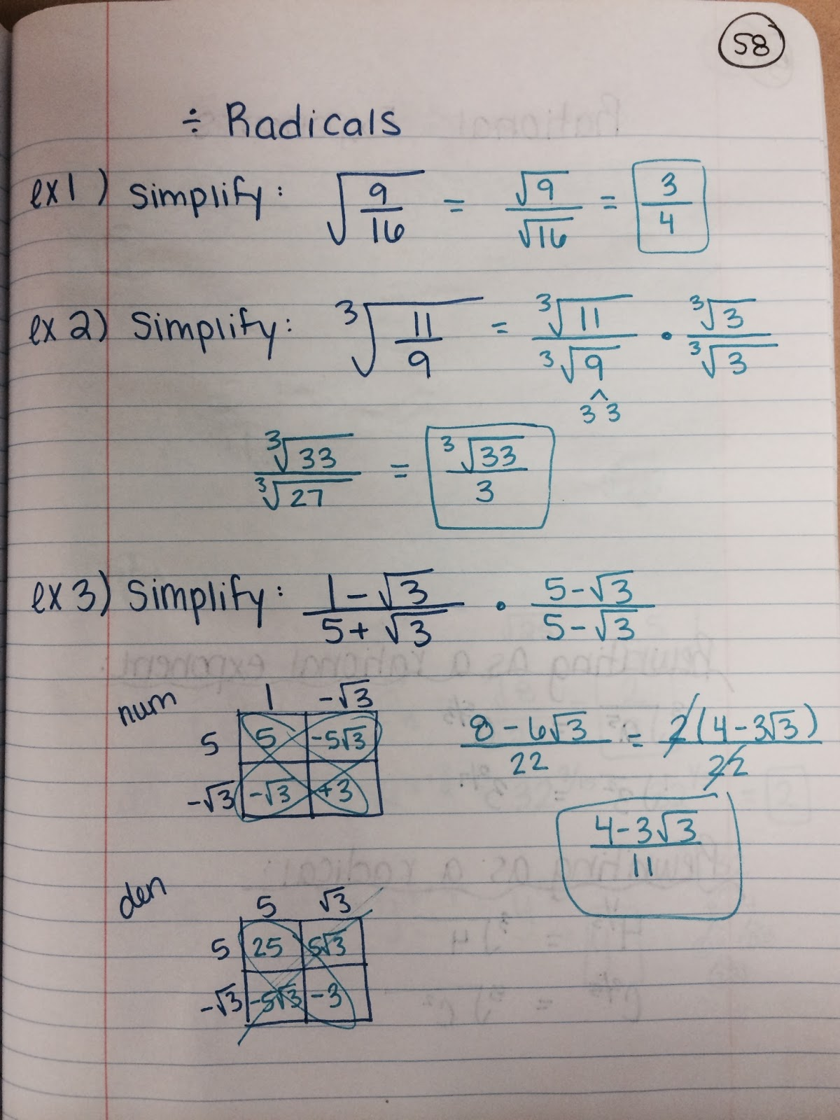 Algebraic Fractions Worksheet Kuta