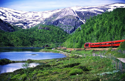 Magical trains of Norway