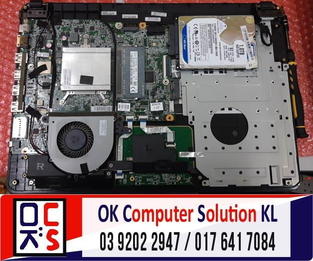[SOLVED] SERVIS THERMAL PASTE ACER Z1402  | REPAIR LAPTOP CHERAS 1