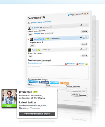 Free Best Third-Party Commenting Systems for Your Blog