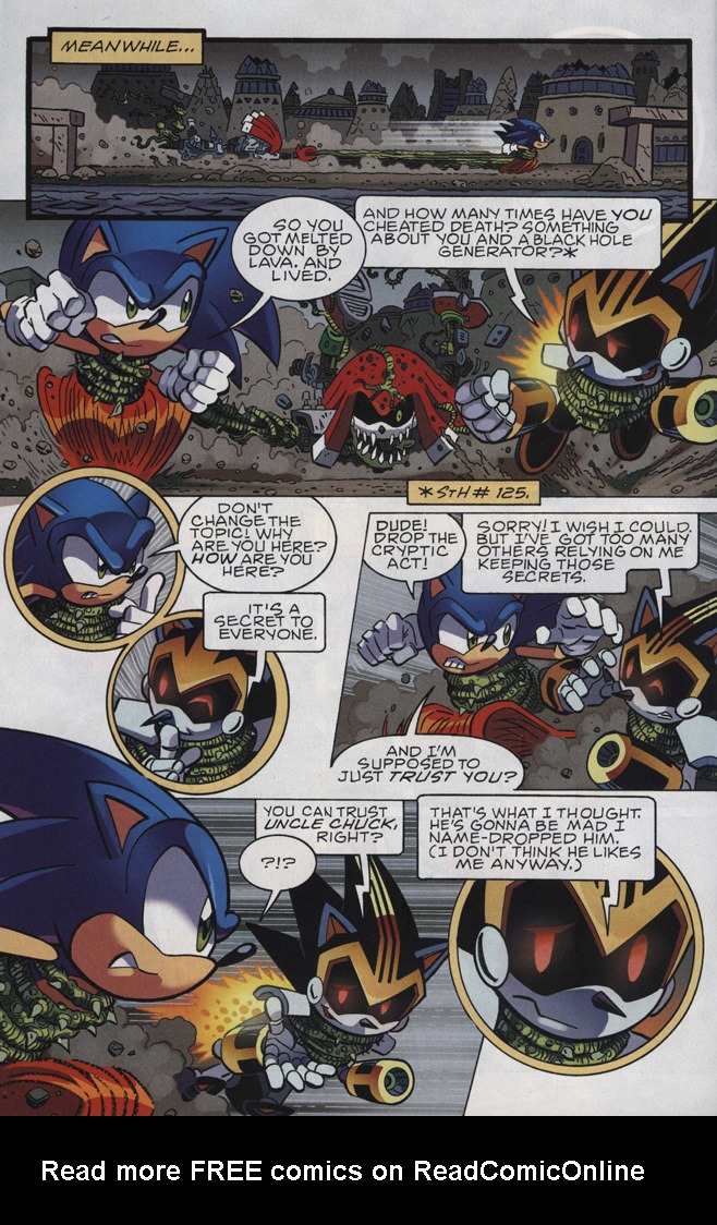 Read online Sonic The Hedgehog comic -  Issue #246 - 12