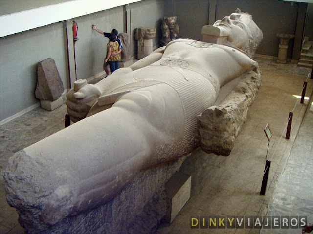 Coloso de Ramsés II de Memphis