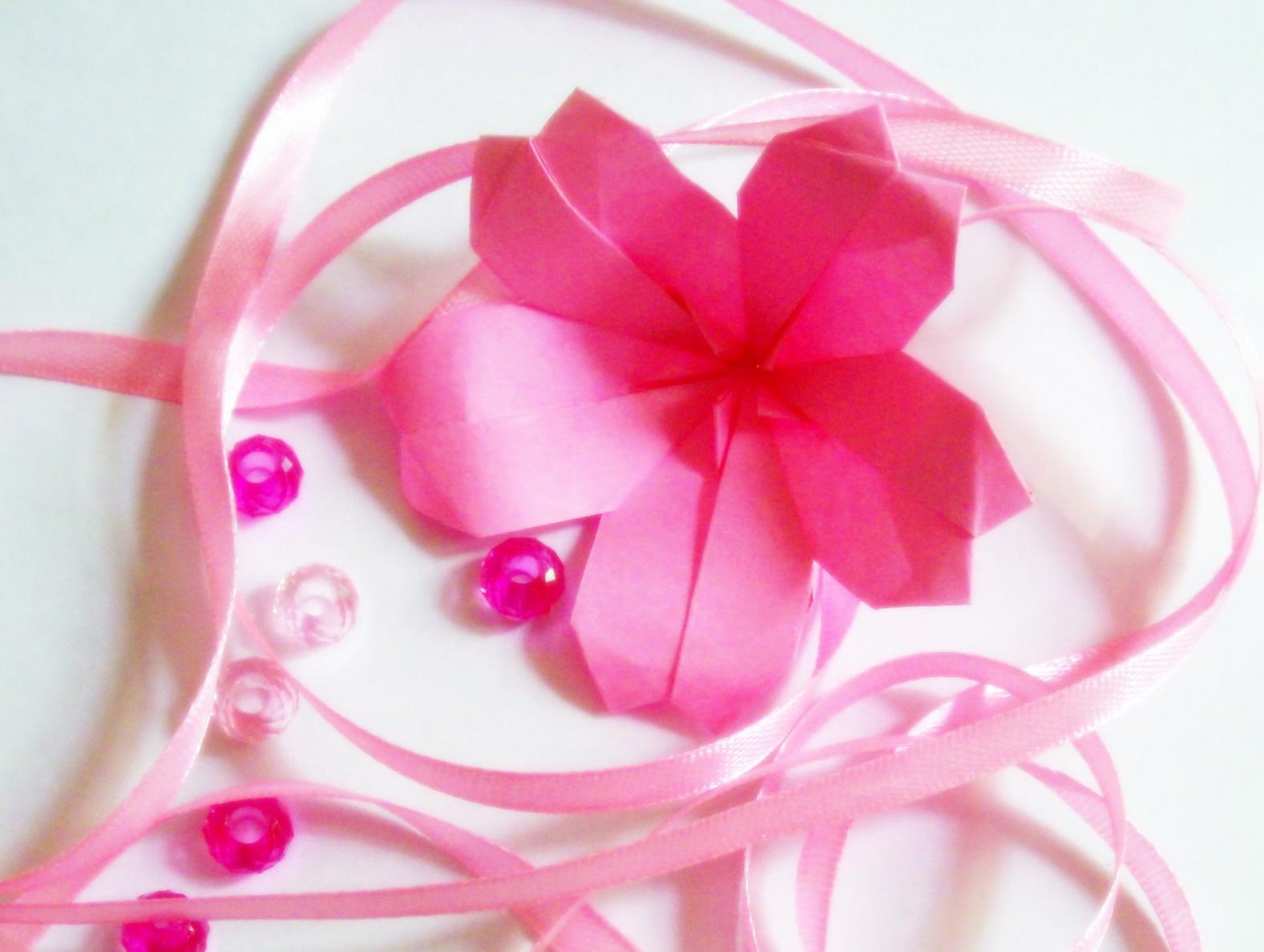 Origami: Origami Cherry Blossom - photo#26