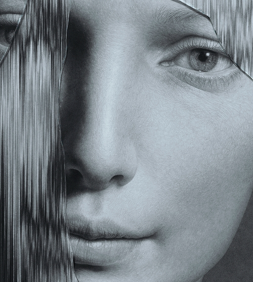 12-The-Cracked-Portrait-Pencil-Drawing-and-Glass-www-designstack-co