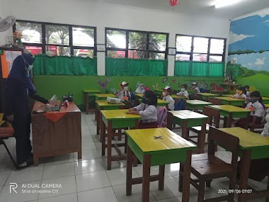 Pembelajaran Tatap Muka Terbatas SDN Gandaria Utara 11 | 06 September 2021