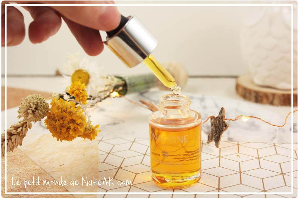 huile nourrissante visage