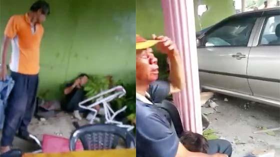 4 Cedera Parah Dilanggar Kereta yang Terbabas Rempuh Kedai
