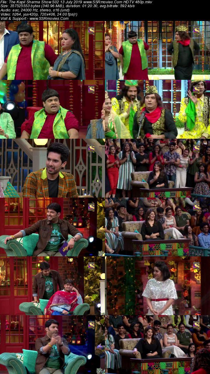 The Kapil Sharma Show S02 13 July 2019 Full Show Download HDTV HDRip 480p