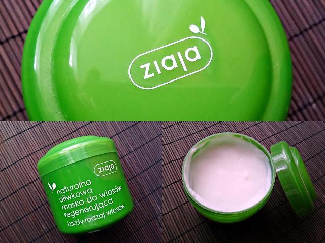 Ziaja - Naturalna, oliwkowa maska regenerująca do włosów