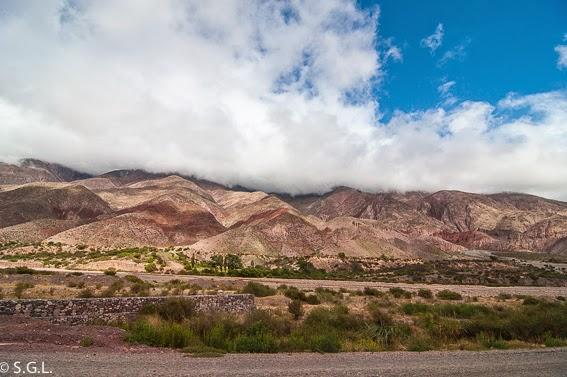 La paleta del pintor en la quebrada de Humahuaca. Viajando por Argentina