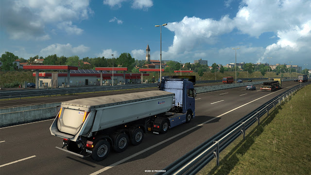 Of Course Also Applies To The Creation Of Our Latest Map Expansion For Euro Truck Simulator 2 Italia Our Functional Road Network Will Serve Us Nicely