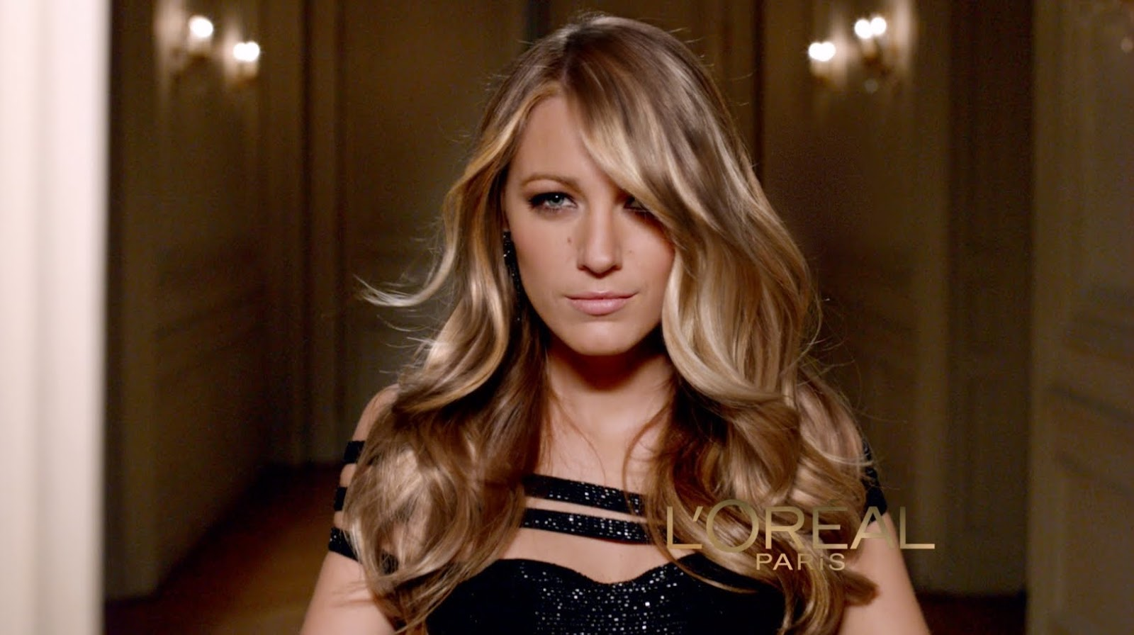Blake Lively with L'Oreal Paris