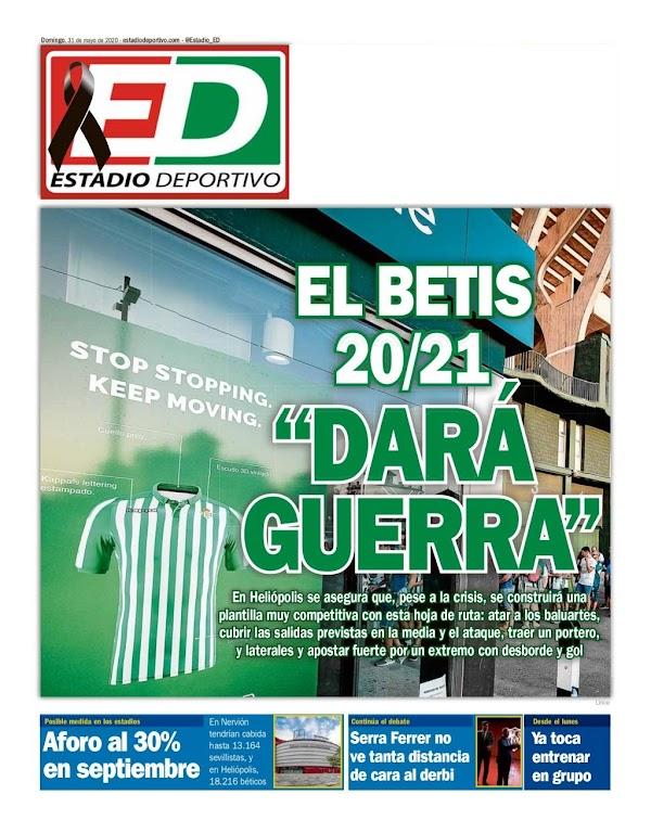 """Estadio Deportivo: """"El Betis 20/21 dará guerra"""""""