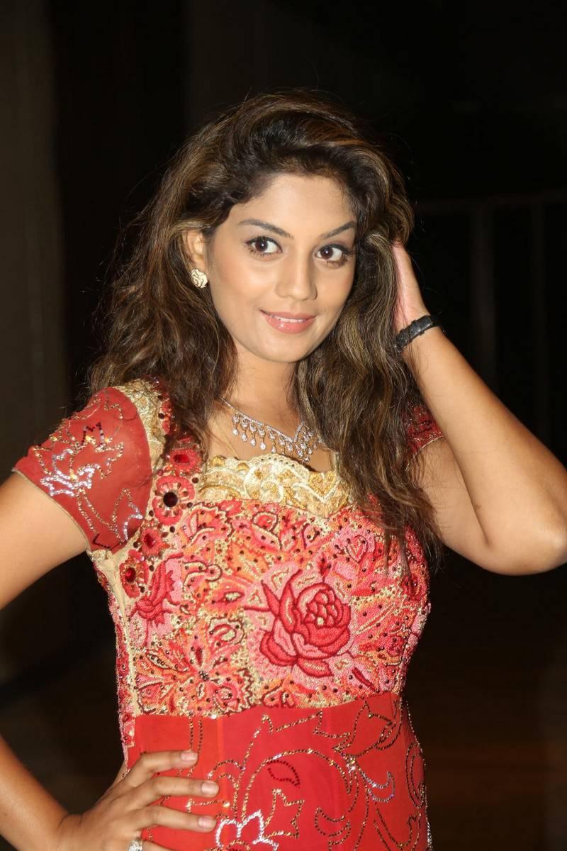 Tv Actress Karuna Latest Photos In Red Dress