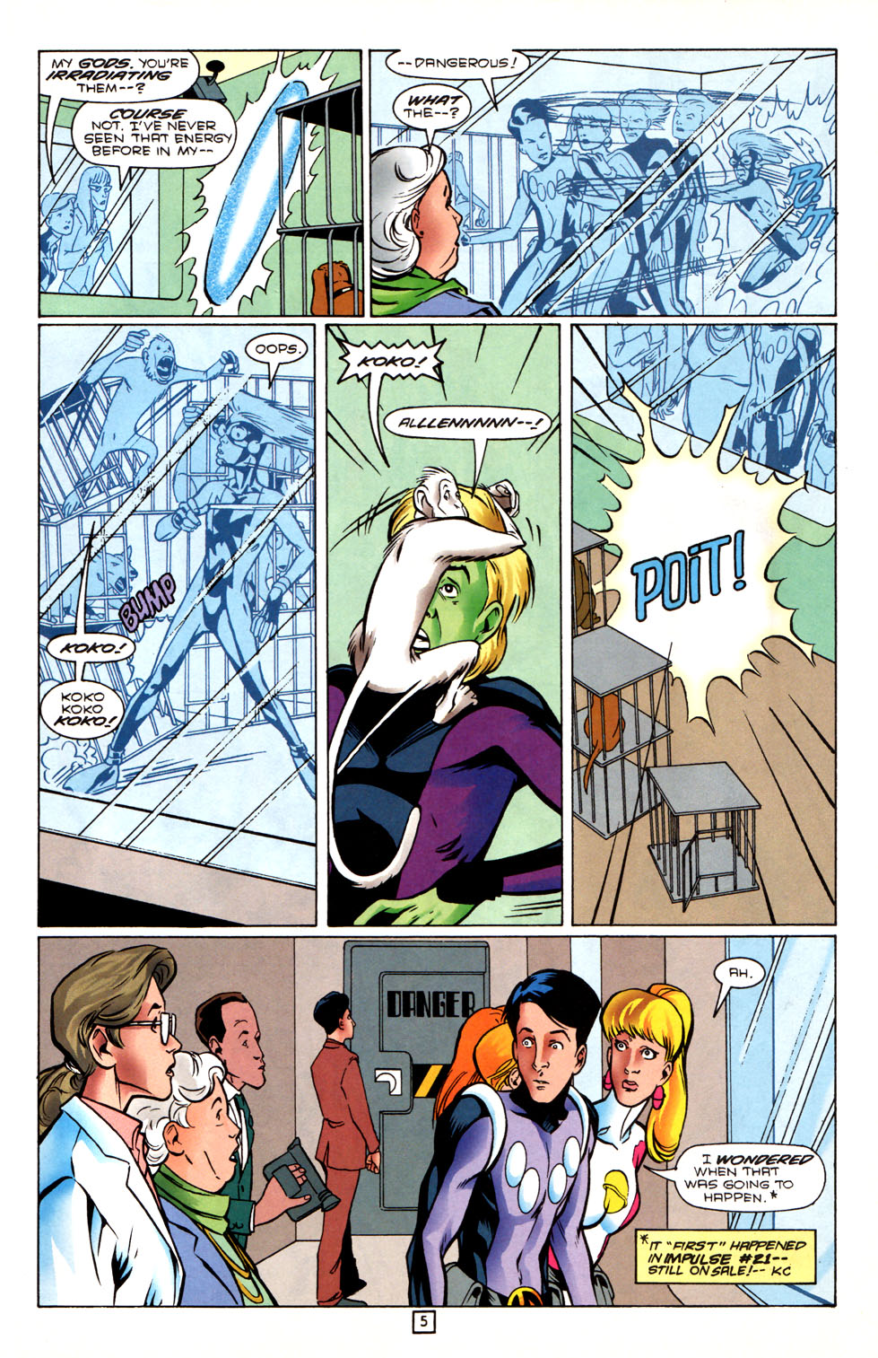 Legion of Super-Heroes (1989) 88 Page 5