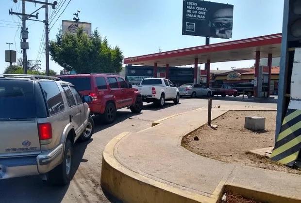 Reportan escasez de gasolina en varios estado
