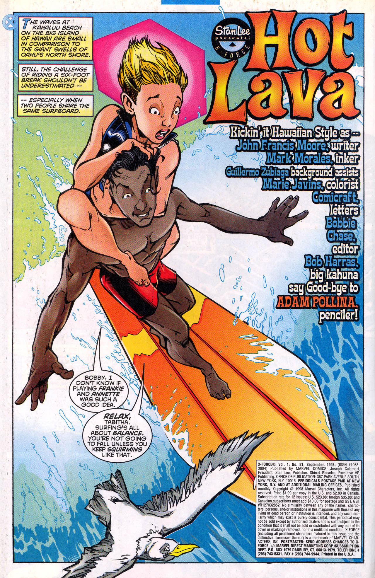 Read online X-Force (1991) comic -  Issue #81 - 5