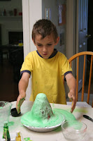 The green volcano (we had a red one before)