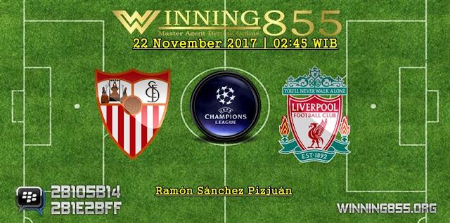 Prediksi Akurat Sevilla vs Liverpool 22 November 2017