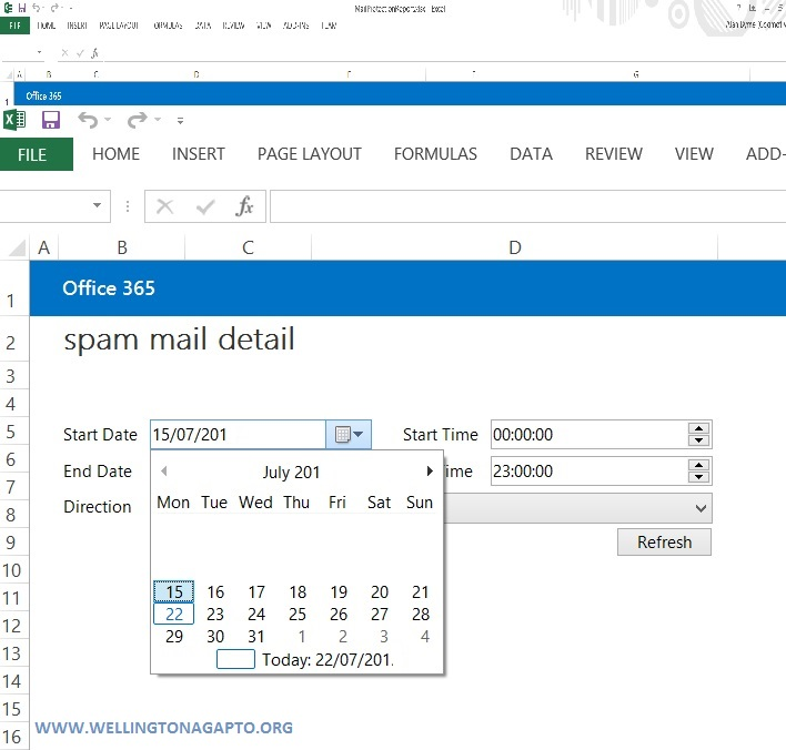 Mail Protection Reports for Office 365 | Ferramenta de relatório para o Exchange Online Protection