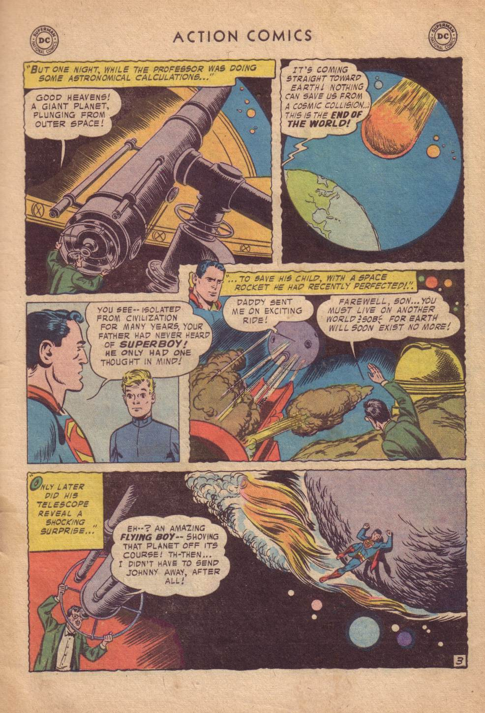 Read online Action Comics (1938) comic -  Issue #232 - 5