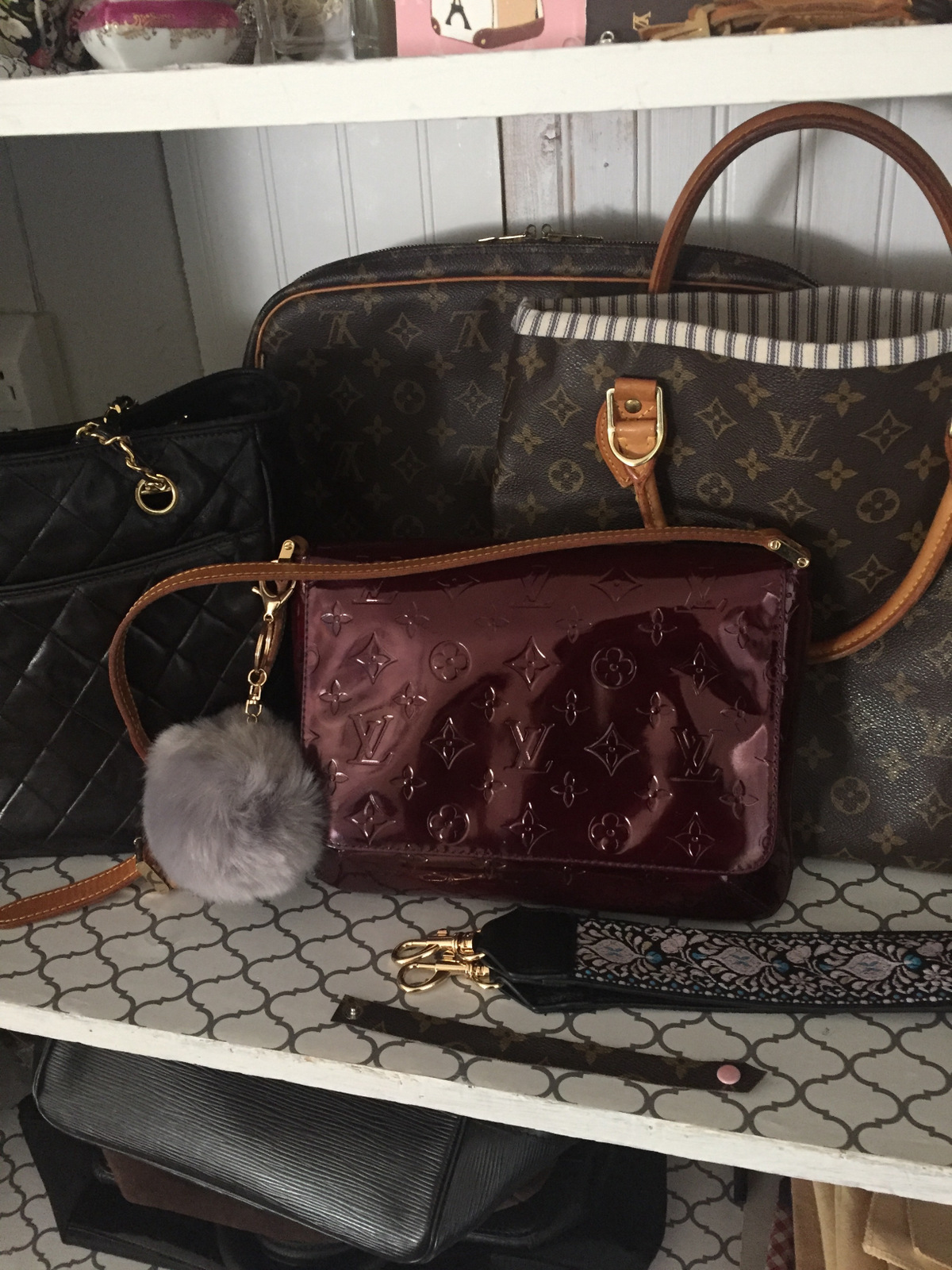 5f11abc68f1 Let s Add Sprinkles  How To Dye A Vernis Louis Vuitton Bag