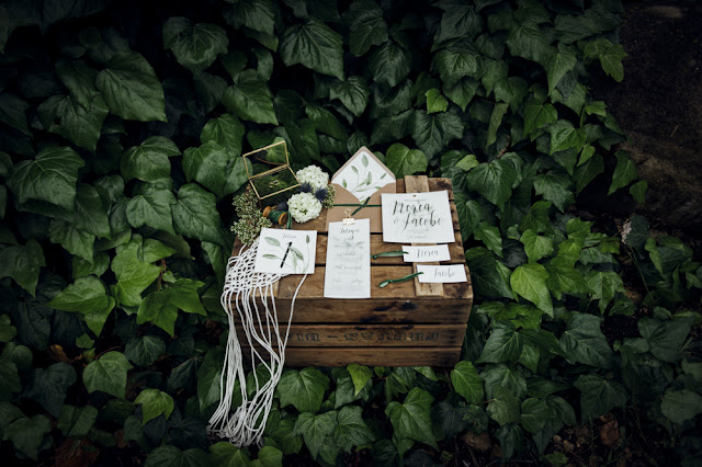blog mi boda - editorial nupcial majestic greenery
