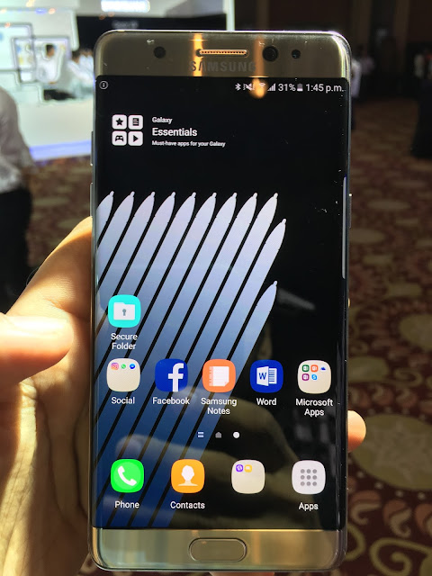 Samsung launches Galaxy Note 7 with Exynos 8890 processor in India for Rs. 59900