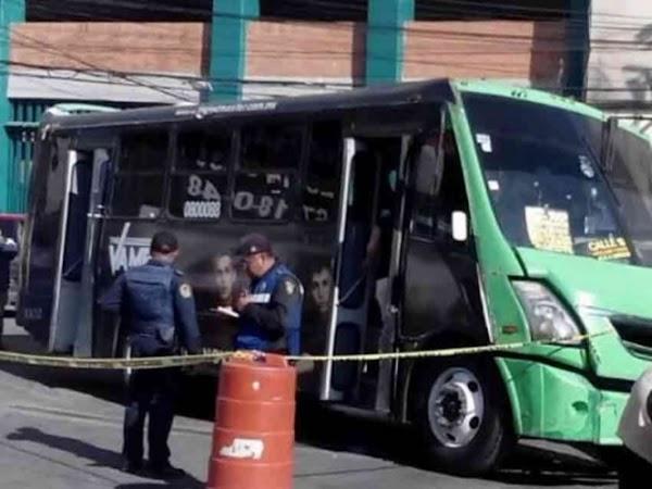 Asalta camión, provoca infarto a chofer y se entrega a policías