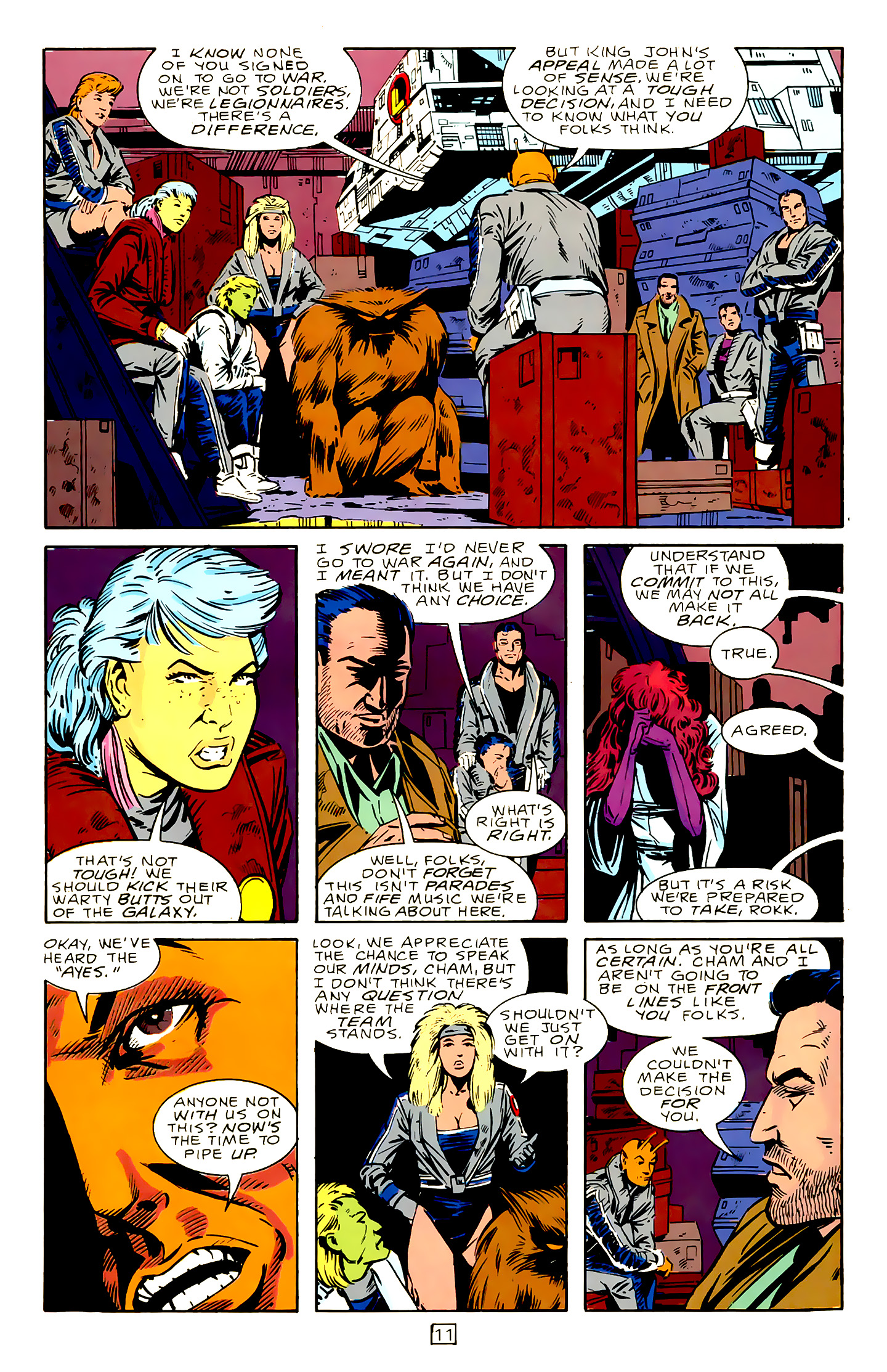 Legion of Super-Heroes (1989) 15 Page 11