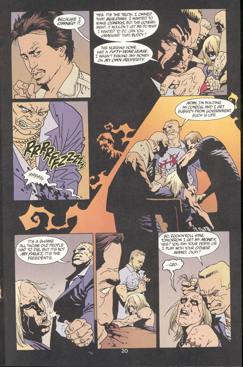 Read online 100 Bullets comic -  Issue #9 - 22