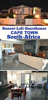 Read my full Review of the luxurious Sunset-Loft Guesthouse, Cape Town in South-Africa and see why you need to add this beauty to your travel list